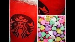 Love On The Rocks Refresher (secret Starbucks Menu)