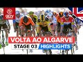 Volta ao Algarve 2020 Stage 3 HIGHLIGHTS | Faro - Tavira