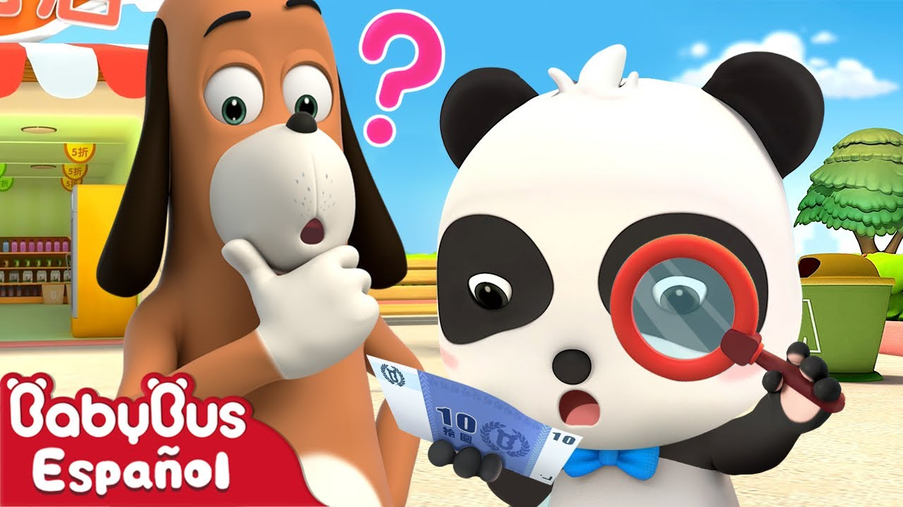 ¿De Dónde Vienen 10 Dólares? | Dibujos Animados Infantiles | Video Para Niños | BabyBus Español