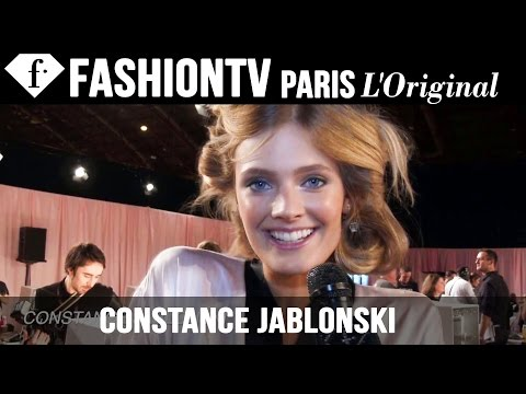 Victoria's Secret Fashion Show 2014-2015 Backstage: Constance Jablonski Interview | FashionTV