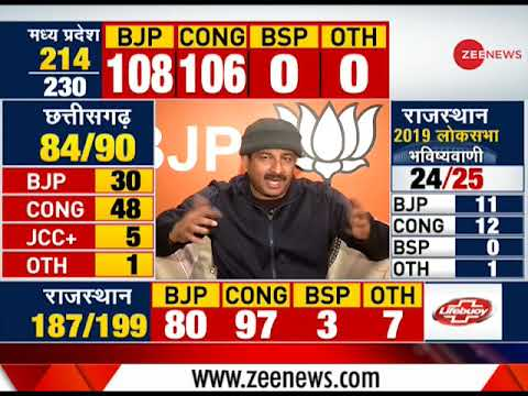 Result Breaking: Election results will be in BJPs favour, says Manoj Tiwari