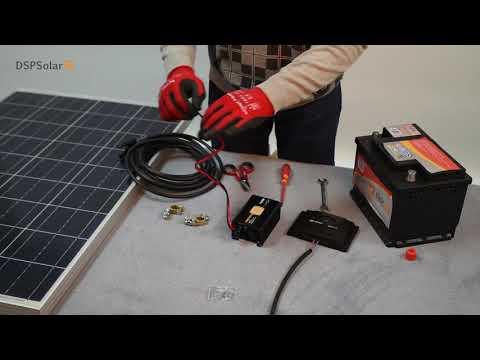 Montaje de un kit solar básico DSPSolar