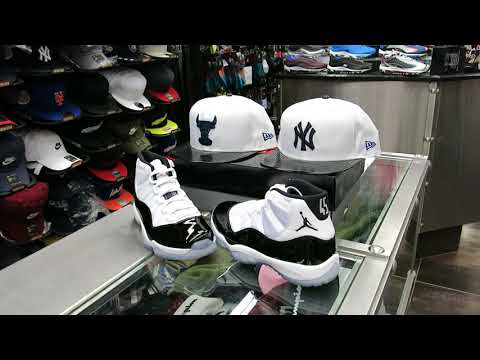 Nike Air Jordan Retro 11 - Concord 11's - at Street Gear, Hempstead NY