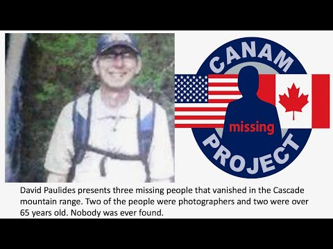 Missing People in the Cascades. Mr. Paulides discuses the disappearance of 3 people.