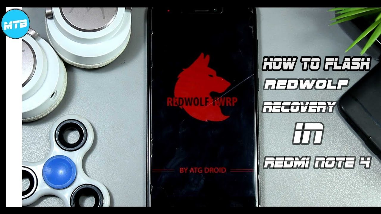 Red Wolf Recovery - Flash Custom Recovery Without PC /MIUI OTA Update