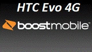 HTC Evo 4G flashed to Boost Mobile