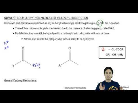 Intro to Carboxylic Acid Derivatives