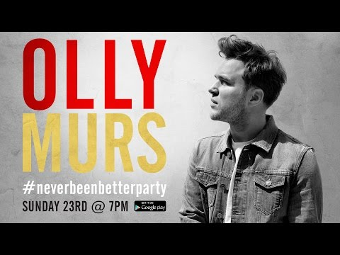 Olly Murs - Never Been Better Party (Q&A and Live Performances)