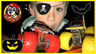Monster Jam - HALLOWEEN COMPILATION (Pirate's Curse, Grave Digger, Grim Take Down, Zombie Madness)