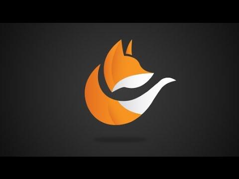 Fox Logo Design Adobe Illustrator CC