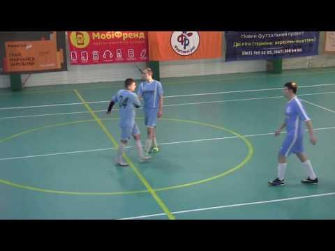 HmelBall TV - Спортивні події Хмельниччини: Спірний гол Хмель - Буревісник футзал