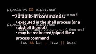 Unix terminals and shells - 3 of 5