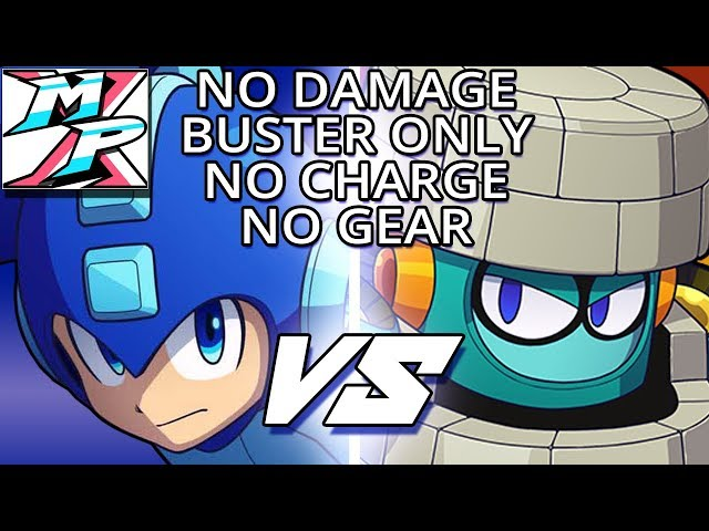 BLOCKMAN STAGE Demo [No Damage - Buster Only - No Charge - No Gear] - (NO COMMENTARY)