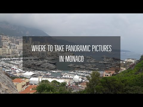 Where to take panoromic pictures in Monaco