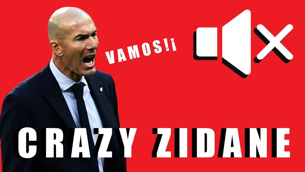 Zidane CRAZY reactions - FC Barcelone v Real Madrid, El classico