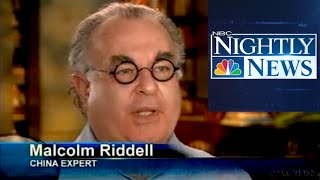 NBC NIghtly News - Kerry Sanders Interviews Malcolm About China