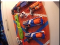 Nerf Gun Wall and In-wall Safe