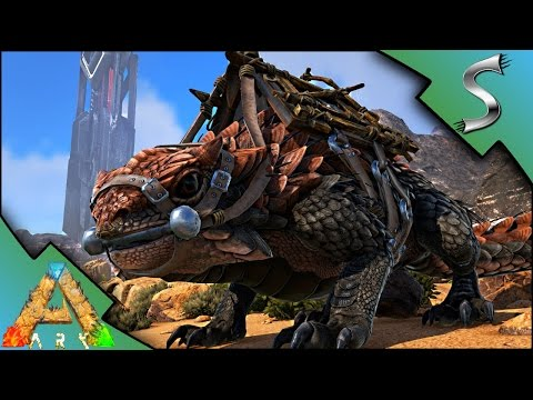 THORNY DRAGON TAMING! FIRST UTILITY DINO TAMED! - Ark: Scorched Earth [Gameplay S2E4]