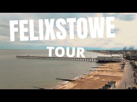 Felixstowe Seafront Tour - Big Ships and exploring the Suffolk Coast