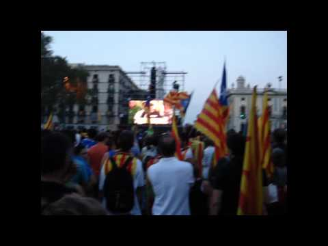 Independence Rally in Catalonia | LIVE | Manifestacio Independencia Catalunya | Part 2