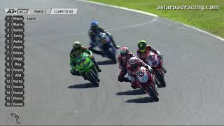 [REPLAY] Asia Production 250cc Race 1 Highlights - ARRC Japan 2018
