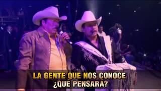 Los Invasores de Nuevo Leon - Gracias Porque Volviste (  Karaoke Oficial )