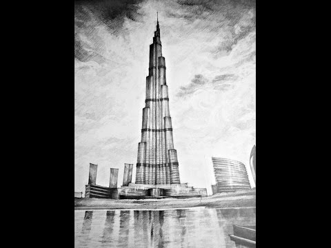 Burj Khalifa, Construction English