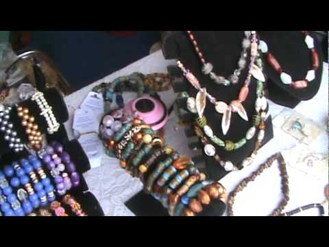 Ghana jewelry at trade show by Africa Business Book