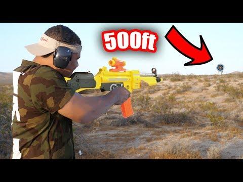 INSANE NERF GUN TRICK SHOTS *CRAZY SHOTS*
