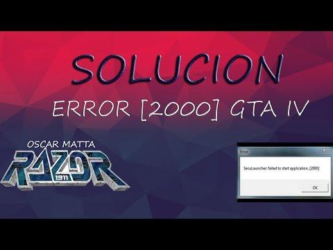 Solucion | Error [2000] | Razor | Seculauncher Failed To Start Application [2000] | OSCAR MATTA