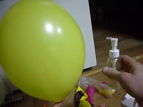 Гелий для шариков своими руками