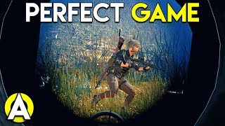 PERFECT GAME - PLAYERUNKNOWNS BATTLEGROUNDS Solo Gameplay Stream Highlight