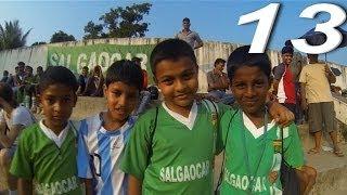 Индия онлайн: Индийский футбол. Гоа(Выбрали день, сходили на индийский футбол. Премьер лига Индии. Лидер чемпионата