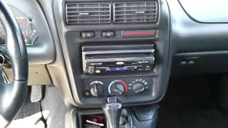 Camaro in dash tv
