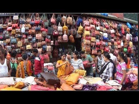 Amazing Street Shopping In Kolkata, Esplanade Area, Kolkata, West Bengal, India |  Indian Markets