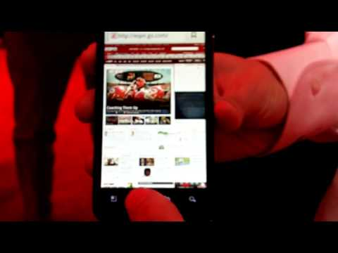 CES 2011: LG Revolution 4G LTE Hands On