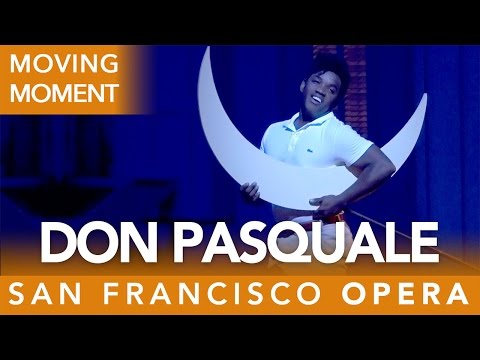 Don Pasquale Magic Moment # 2 - with Lawrence Brownlee as Ernesto - Fall 2016