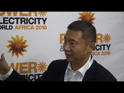 Power & Electricity World Africa 2018 interview with Haiyan Song