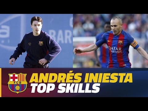 COMPILATION: Iniesta top skills during Barça Youth Academy