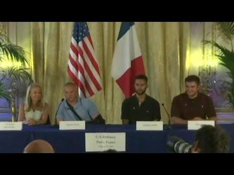 Train Heroes Describe Ordeal