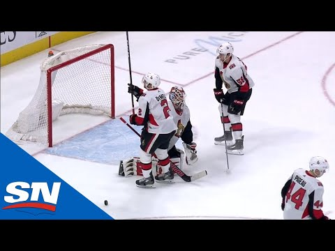 Senators' Dylan DeMelo Gives Red Wings Easy Goal With Brutal Turnover