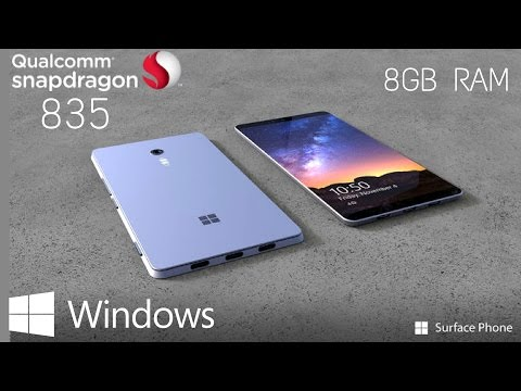 Microsoft Surface Phone - 8GB of RAM and Snapdragon 835 inside (Rumor)