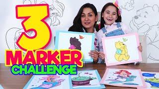 3 MARKER CHALLENGE LARA CAMPOS #QuedateEnCasa