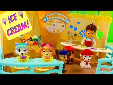 Thumbnail: Best Learning Colors Video for Children Paw Patrol Ice Cream Playground | Fizzy Fun Toys
