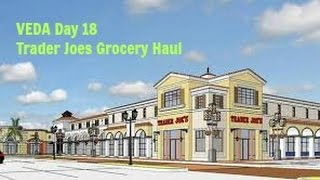 Veda Day 18 Trader Joes Grocery Haul