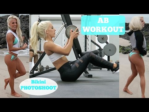 CARDIO at 5AM & Bikini Photoshoot | Los Angeles thumbnail