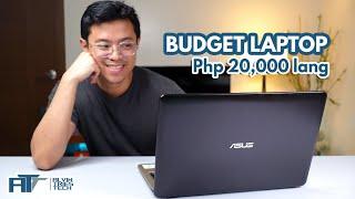 Budget Laptop Review para sa students! - Asus Vivobook X540B