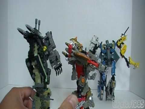 "Transformers Power Core Combiners:  ""Grimstone with the Dinobots"""