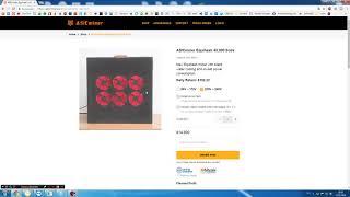 ASICminer Equihash 40,000 Sol/s за 14 800$. Это катастрофа?