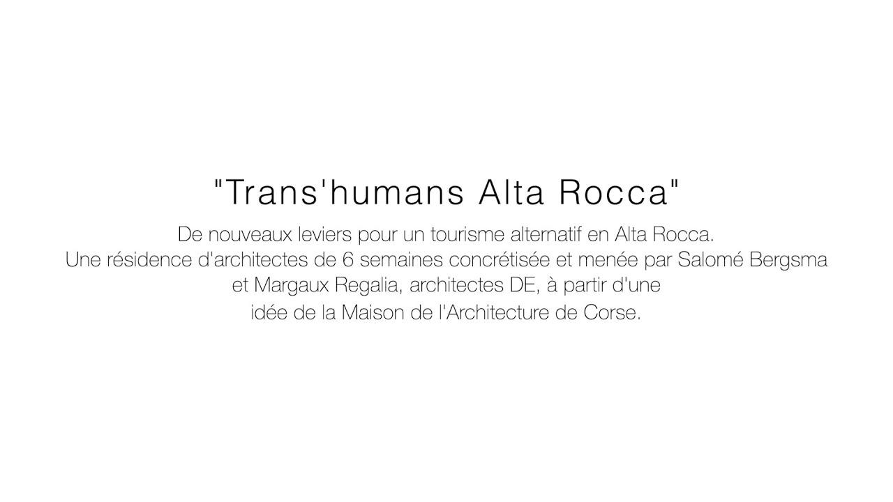 Résidence d'architecte dans l'Alta Rocca